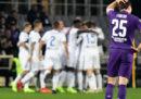 La semifinale di andata di Coppa Italia fra Fiorentina e Atalanta è finita 3-3