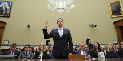 La deposizione di Michael Cohen al Congresso