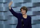 La senatrice Amy Klobuchar ha annunciato la sua candidatura alle primarie Democratiche per le elezioni presidenziali del 2020