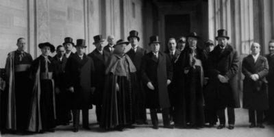 La firma dei Patti Lateranensi, 90 anni fa