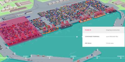 La Georgia sta costruendo un porto gigantesco per ingolosire l'Europa