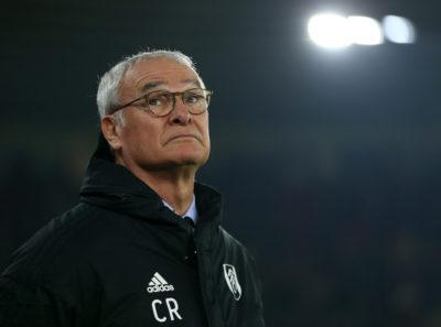 Claudio Ranieri è stato esonerato dal Fulham