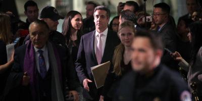 L'attesa deposizione di Michael Cohen alla Camera