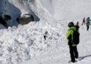 Sono stati soccorsi quattro sciatori che erano stati travolti dalla valanga a Crans-Montana