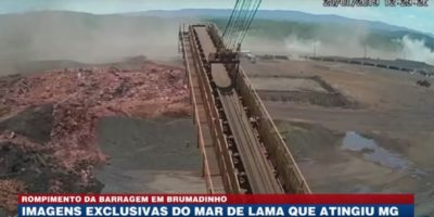 Il nuovo video del crollo della diga in Brasile