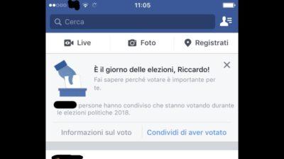 Il Garante per la protezione dei dati personali dice che Facebook ha usato in modo illegittimo dati raccolti prima delle elezioni politiche italiane