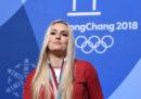 La sciatrice statunitense Lindsey Vonn, una delle più forti di sempre, ha annunciato il ritiro dalle gare