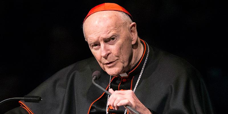 Papa spreta ex arcivescovo Washington