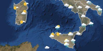 Le previsioni meteo per domani, lunedì 4 febbraio