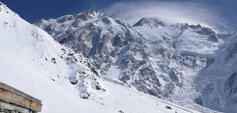 Frequentando un alpinista