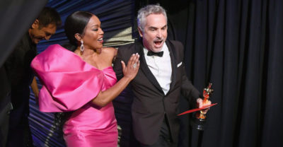 Nel backstage degli Oscar