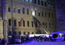 È crollata parte di un palazzo universitario a San Pietroburgo