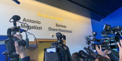 Lo studio radiofonico del Parlamento Europeo è stato intitolato ad Antonio Megalizzi e a Bartosz Orent-Niedzielski, morti nell'attentato a Strasburgo