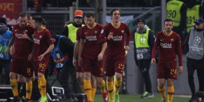 La Roma ha battuto 2-1 il Porto nell'andata degli ottavi di Champions League