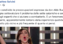Salvini è preoccupato per l'invocazione a Satana fatta da Virginia Raffaele a Sanremo (...)