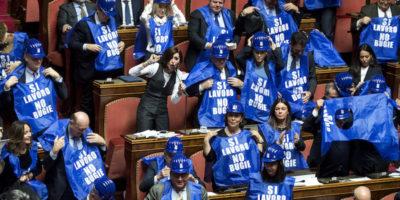 Le foto di oggi dal Senato