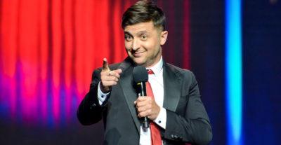 Anche in Ucraina c'è un comico candidato