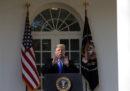 Trump ha dichiarato lo stato di emergenza per costruire il muro