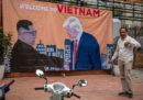 Le foto dei preparativi dell'incontro tra Trump e Kim in Vietnam