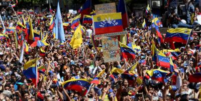 Le nuove manifestazioni contro Maduro