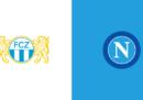Dove vedere Zurigo-Napoli in TV e in streaming