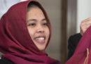 Una delle due donne accusate dell'omicidio di Kim Jong-nam, fratello di Kim Jong-un, è stata rilasciata
