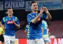 Il Napoli ha vinto 3-0 contro il Salisburgo nell'andata degli ottavi di Europa League