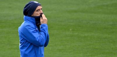 La prima partita vera dell'Italia di Mancini