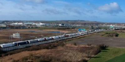 Uno sciopero bianco ha bloccato il porto di Calais, e c'entra Brexit