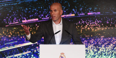 Zidane è di nuovo l'allenatore del Real Madrid