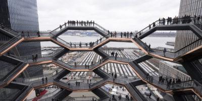 Il nuovo complesso di Hudson Yards a Manhattan