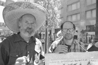 Lawrence Ferlinghetti, che oggi compie 100 anni
