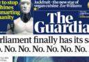 Il parlamento britannico ha deciso che no, no, no, no, no e ancora no