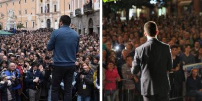 Quanto non lavorano Salvini e Di Maio, contato