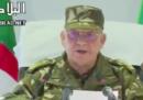 Il capo dell'esercito algerino ha chiesto la destituzione del presidente Bouteflika