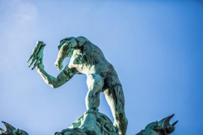 La leggenda della fondazione di Anversa parla di una mano
