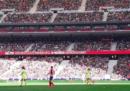 In 60.739 a vedere la partita di calcio femminile tra Atletico Madrid e Barcellona