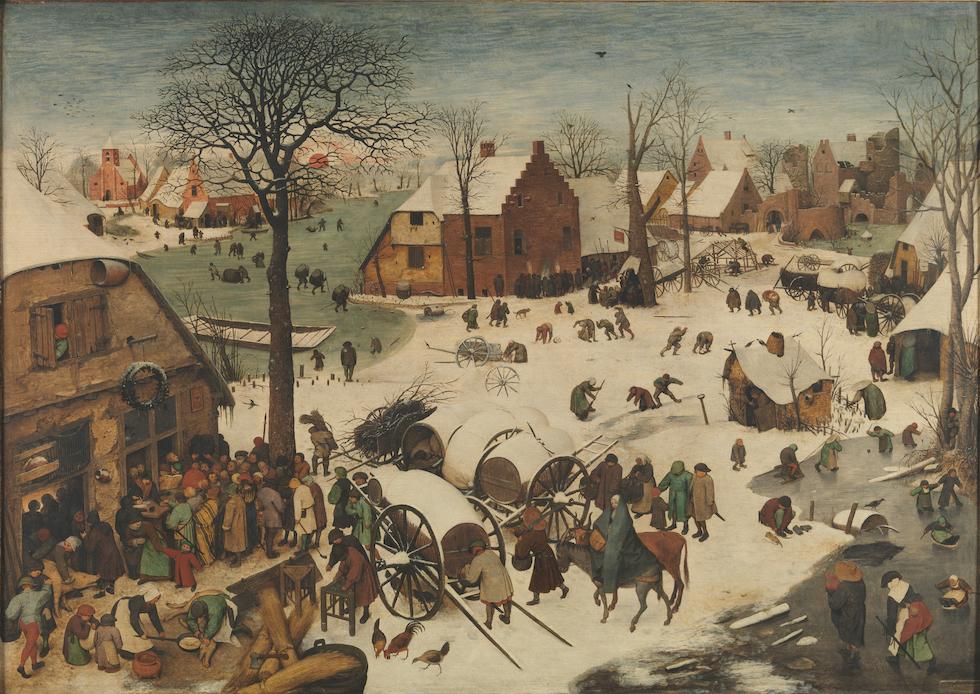 1941959a35f Tra i dipinti a tema religioso di Bruegel c è