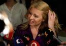 La prima presidente donna in Slovacchia