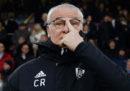 Claudio Ranieri è il nuovo allenatore della Roma