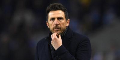 La Roma ha esonerato il suo allenatore, Eusebio Di Francesco