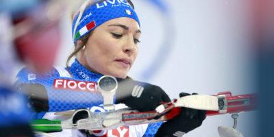 Dorothea Wierer ha vinto la medaglia d'oro nella mass-start ai Mondiali di biathlon