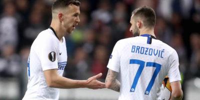 L'Inter ha pareggiato contro l'Eintracht Francoforte nell'andata degli ottavi di Europa League