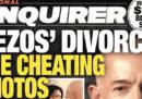 La storia dietro il ricatto del National Enquirer a Jeff Bezos