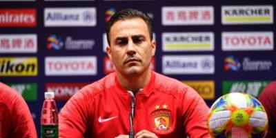 Fabio Cannavaro è il nuovo allenatore ad interim della Cina