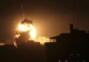 I bombardamenti di Israele su Gaza