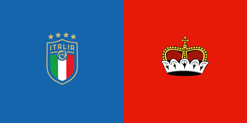 Italia-Liechtenstein in TV e in streaming