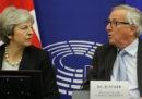 C'è un nuovo accordo tra May e Juncker su Brexit