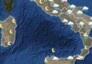 Le previsioni meteo per lunedì 11 marzo