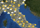 Le previsioni meteo per lunedì primo aprile